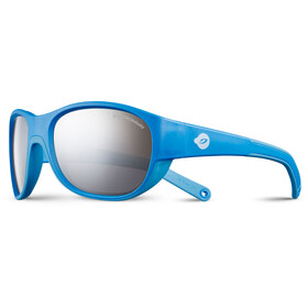 Julbo Luky Spectron 4 Sunglasses 4-6Y Kids cyan blue/blue-gray flash silver